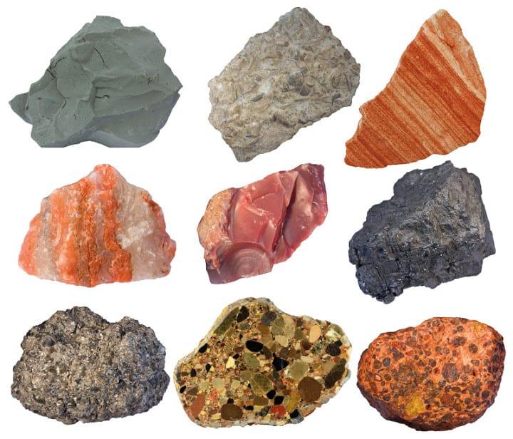 Resultado de imagen de imagenes de rocas y minerales