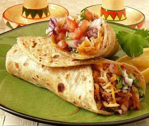 Diferencia entre burrito y taco for Ahora mexican cuisine