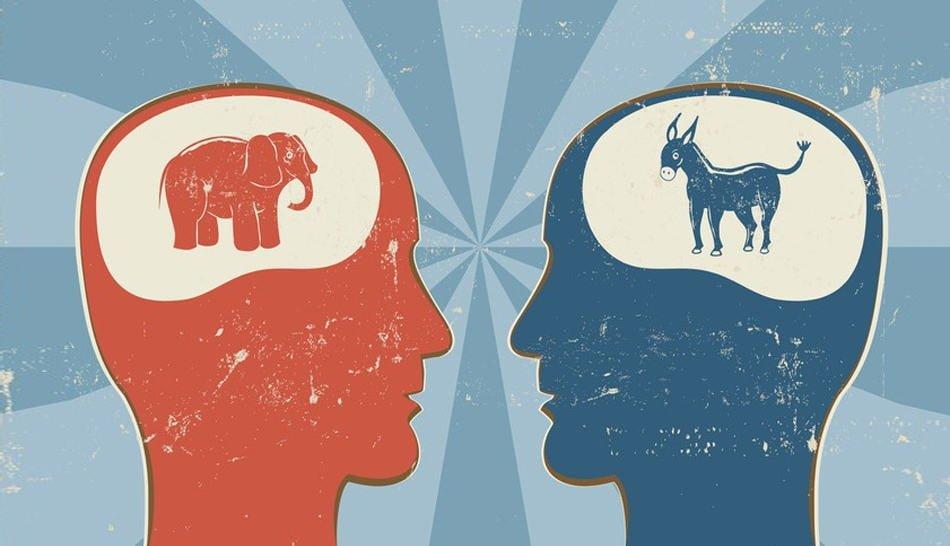 liberales y conservadores