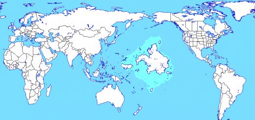 islas y continentes