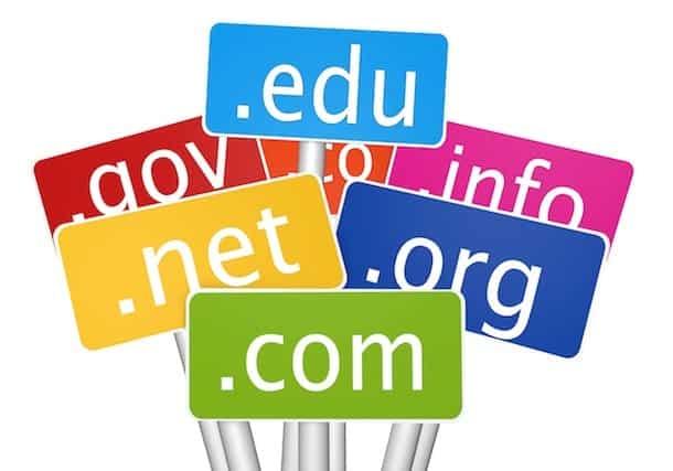 Escoger nombre de dominio