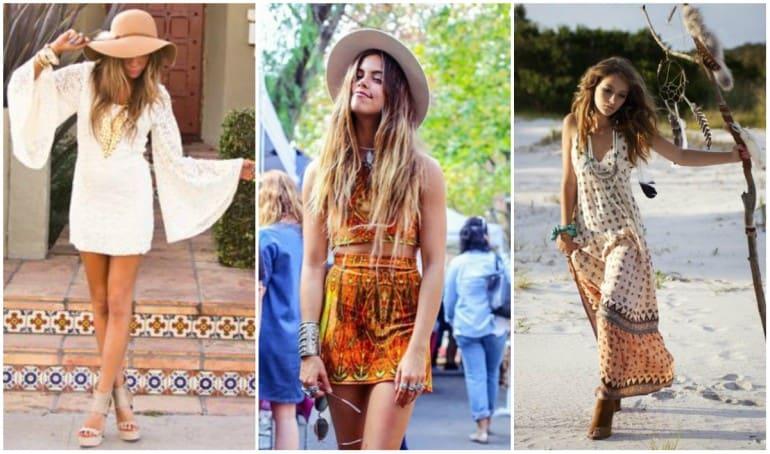 hippie y bohemio