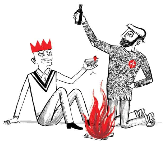 monarquia y anarquia